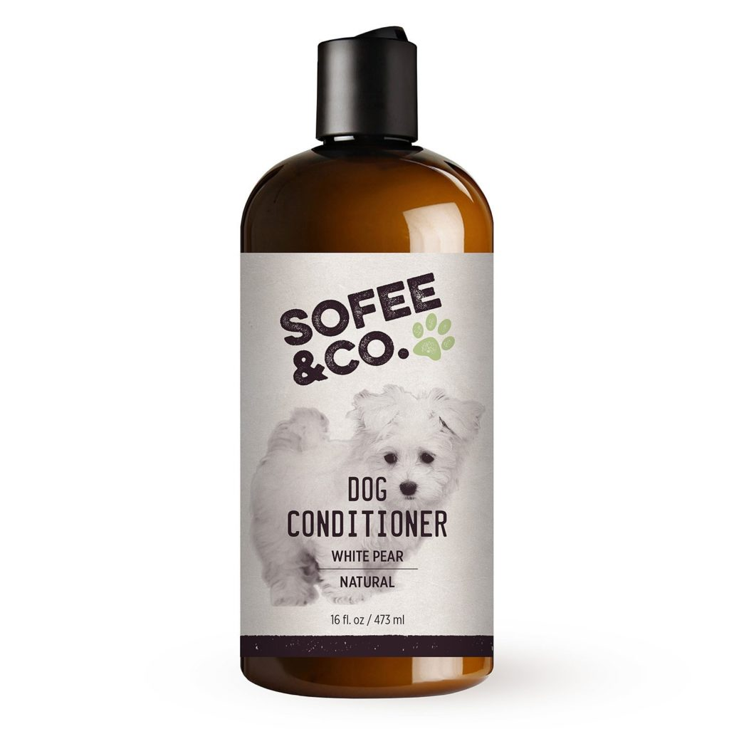 Natural Dog Conditioner, White Pear