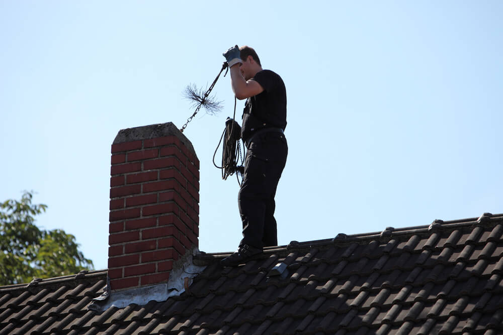 How to Remove Glazed Creosote from a Chimney