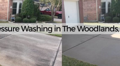 Pressure Washing The Woodlands
