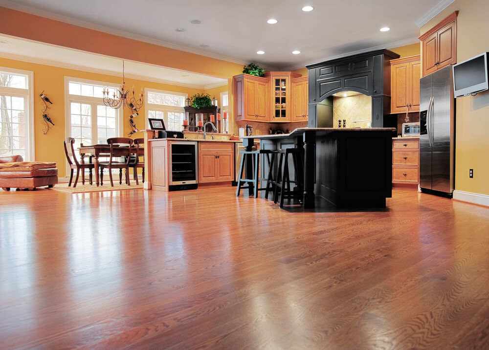 How to Install Laminate Flooring Around Kitchen Cabinets