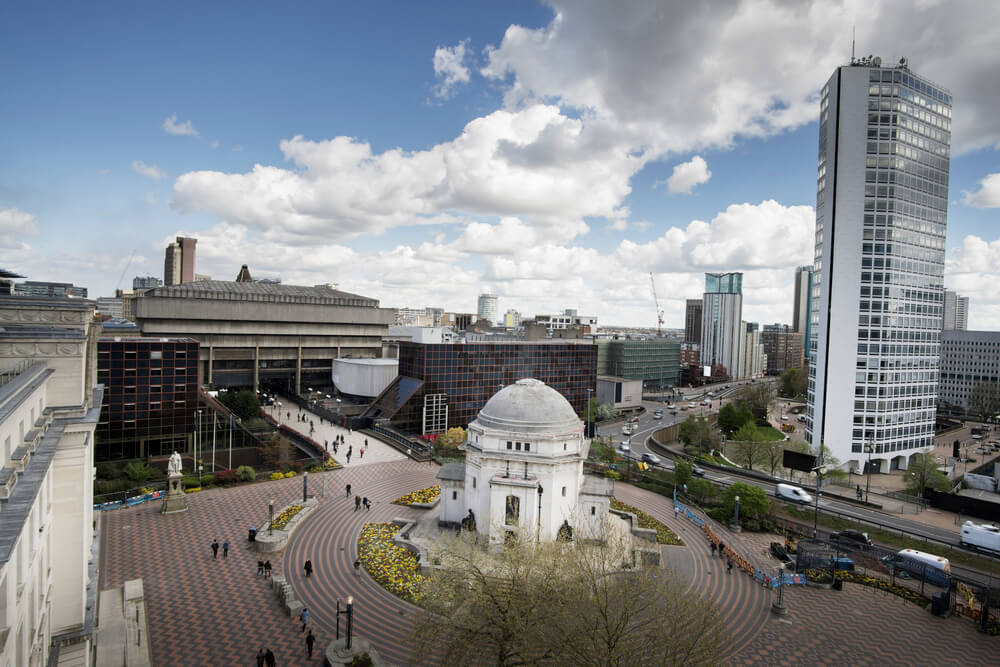 Entertainment Places in Birmingham, UK
