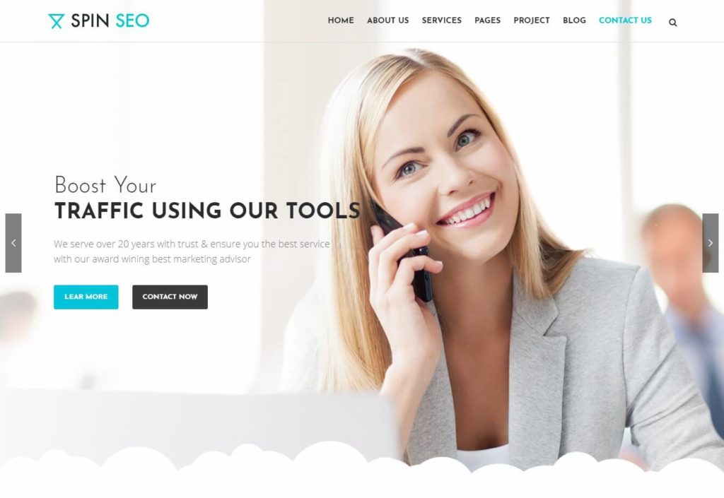 The Spin SEO Theme