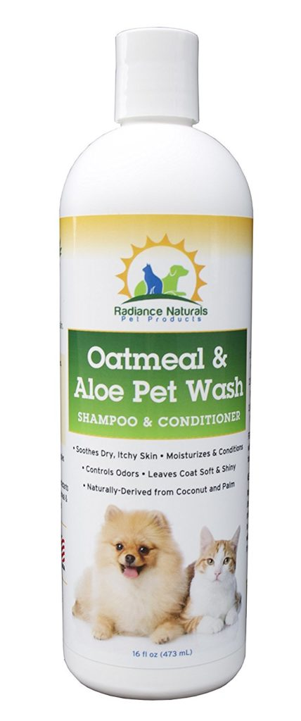 All Natural Pet Oatmeal & Aloe Shampoo Plus Conditioner For Dogs