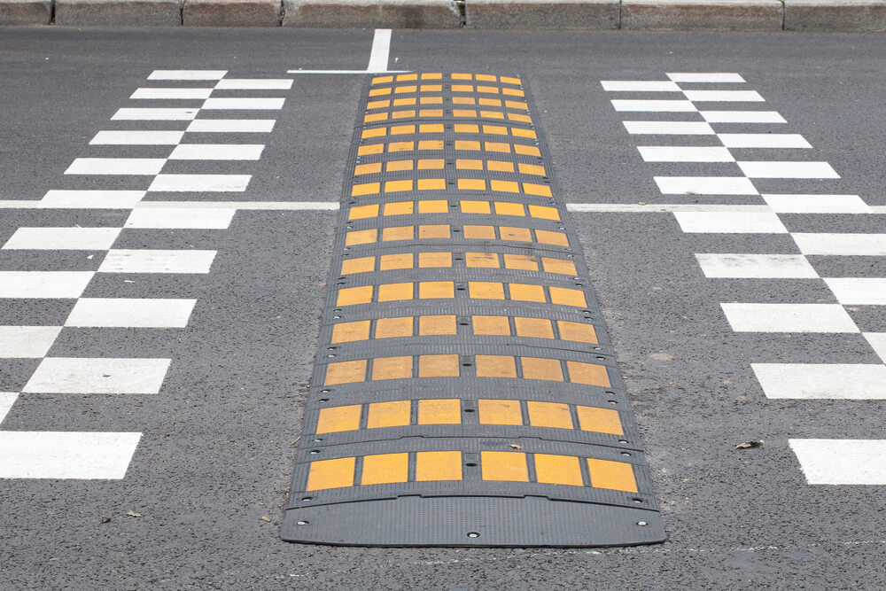 What Are Rubber Speed Humps/Bumps For?