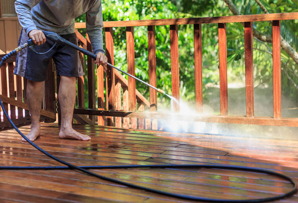 When Is the Best Time to Pressure Wash Your Deck?