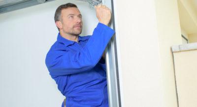 How to Repair a Buckled Garage Door