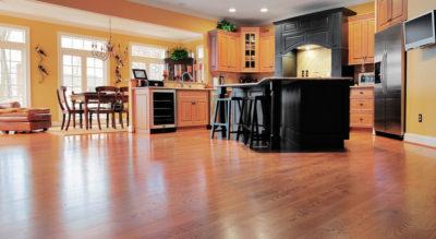 How to Install Laminate Flooring Around Kitchen Cabinets
